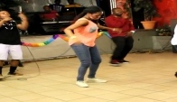 Ajoejoe and Rebbel Ashes performance Azonto battle