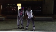 Azonto Dance on Skates