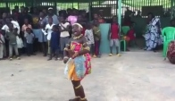 Azonto with Adowa dance dress