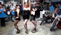 Battistinis' Open House Day - First Burlesque Dance