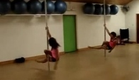 Beginners Pole Dance Routine