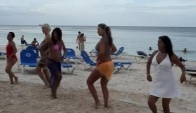 Dancing in Punta Cana