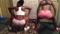 Diamond and I Twerking lol