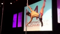Gregory Garcia ganador de Pole Dance
