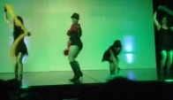 High heel dance schow