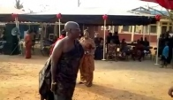 Hilarious Adwoa Smart dancing adowa