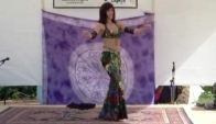 Jackie Morris Belly Dancing Egyptian Cabaret