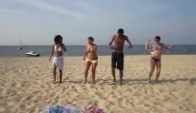 Kuduro Dance at the Beach