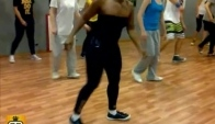 Latonya at House Dance Class with Anna Semagina