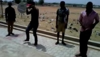 Me teaching alingo dance in adamawa state