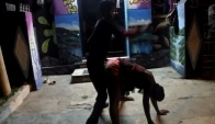 Only In Jamaica Dancehall Daggering in Style