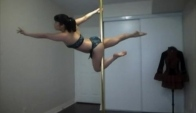 Pole Dance Move Tutorial Side Saddle Superman