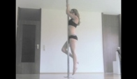 Pole Dance Tutorial Advanced Plank