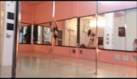 Pole dance to Cherry Pie