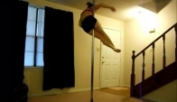 Pole dance to Elements