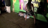 Roatan dancehall queen part