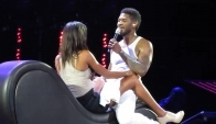 Seduces a Fan on Stage - Bank Atlantic Center