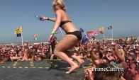 Spring Break Bikini Dance Contest