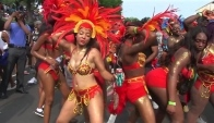 Toronto Caribana Carnival Parade - Music and dancing