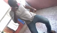 Two Guys Dances Azonto to LIGHTER'S