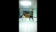 Two girls dancing High heel dance