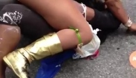 West Indian day parade ; Daggering 'Neva postpone