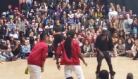 Chazou Alliance kingz and Jr Black Eagles vs Blacka and Sir ledgen - Juste Debout 2014