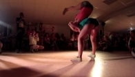 Siberian Dancehall Contest Dh 2*2 1/4 final - Inga and Muchacha vs Gaika and Kaya