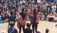 Steddy and a Ni Mal ( U.S Crew ) vs DHQ Layaa and Maylee ( Queenstonn ) - Juste Debout 2014