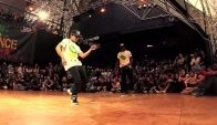 Steddy and a Ni Mal vs. Lill Gbb and Daphne - Semi Final - Juste Dancehall 2014