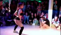 twerk selection Polina Siberian Dancehall Contest 2014